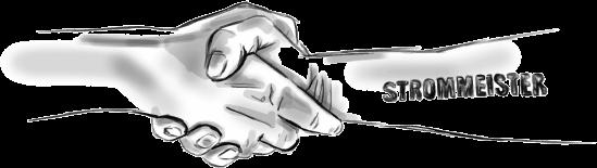 Strommeister Handschlag